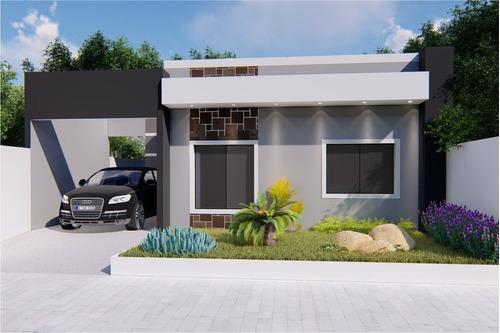 Imagem 1 de 8 de Projeto 2qtos - Arq+hidr+eletr+aprovação Prefeitura Ea-155