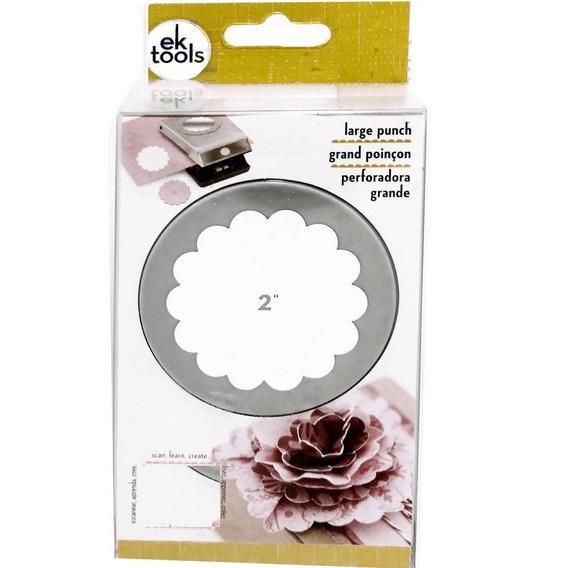 Perforadora Cortadora 5 Cm Papel Scrapbook Flor Circular Ofe