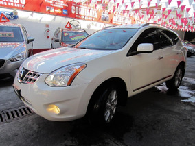Nissan Rogue Exclusive Awd 2014 Blanco Perla