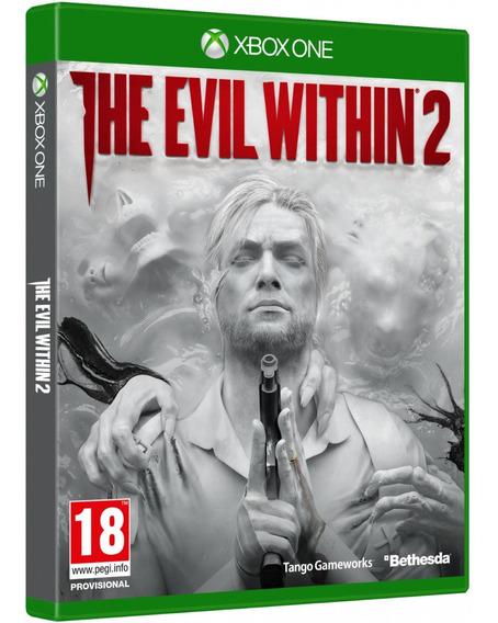 Jogo The Evil Within 2 Xbox One Midia Fisica Novo Nacional