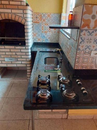 Casa Com 2 Dormitórios À Venda Por R$ 550.000 - Jardim Hípica Pinheiro - Taubaté/sp - Ca6473
