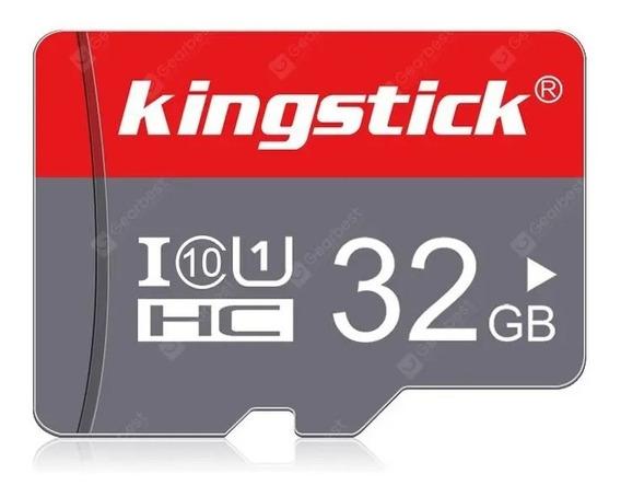 Cartão De Memoria 32 Gb 100 % Original+adaptador Super Rapid