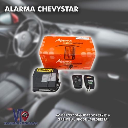 Alarma Chevystar Con Clave