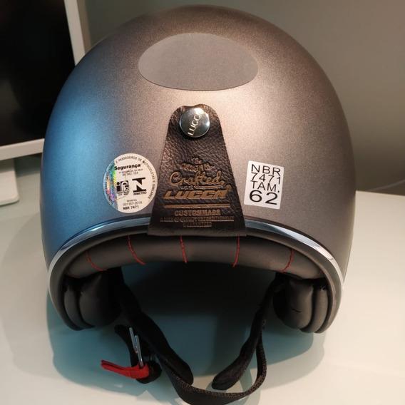 Capacete Lucca Custom 62 61 60 59 Urban Vintage Hd Harley