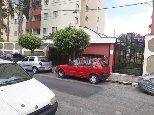 Apartamento Com 3 Dormitórios, 56 M² - Venda Por R$ 230.000,00 Ou Aluguel Por R$ 1.250,00/mês - Jardim Santa Terezinha - São Paulo/sp - Ap0036