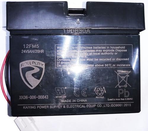 Bateria 24volts Prinsel Para Monster Leer Decripcion