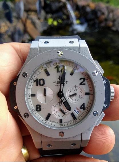 Relógio Masculino/vidro Safira /premium Aaa