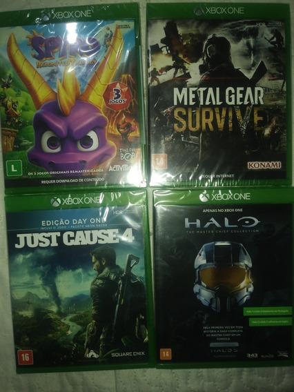 Lote De 4 Jogos Xbox One Lacrado