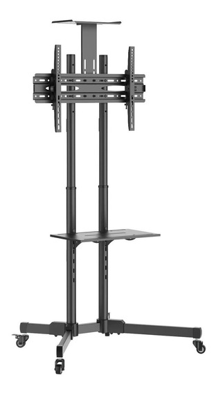 """Suporte ELG A06V6_S de chão para TV/Monitor de 32"""" até 70"""" preto"""