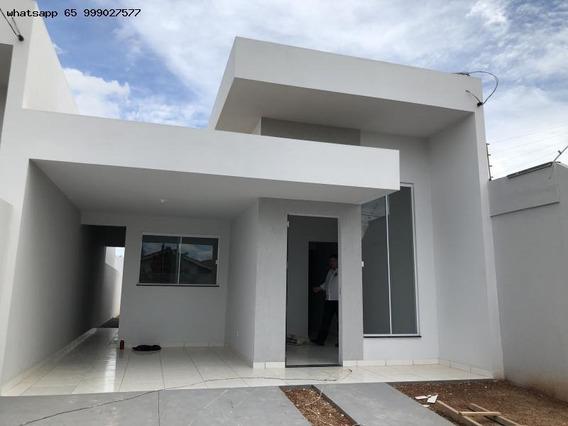 Casa Para Venda Em Várzea Grande, Ponte Nova, 2 Dormitórios, 1 Banheiro - 207_1-1305343