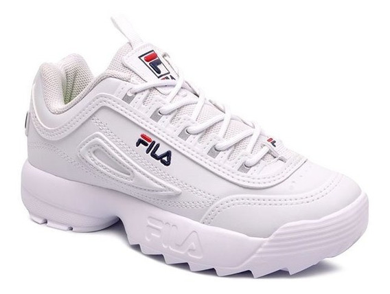 Tênis Infantil Dad Sneaker Fila Disruptor 909352 Branco