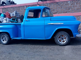 Chevrolet Apache 1956 Pick Up Para Concluir Restauracion