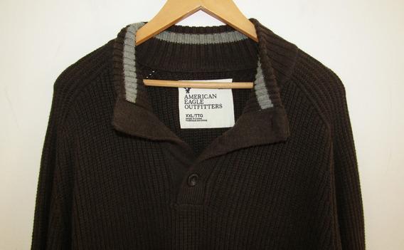 American Eagle Sweater Cuello Alto Talla X X L