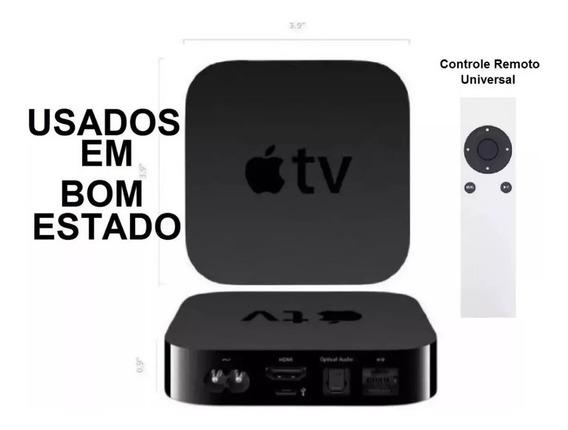 Apple Tv 3 Geração-full Hd/ Usados / Controle Universal