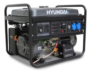 Grupo Electrogeno Generador Hyundai Hyh6800fe 5500w 6 Kva