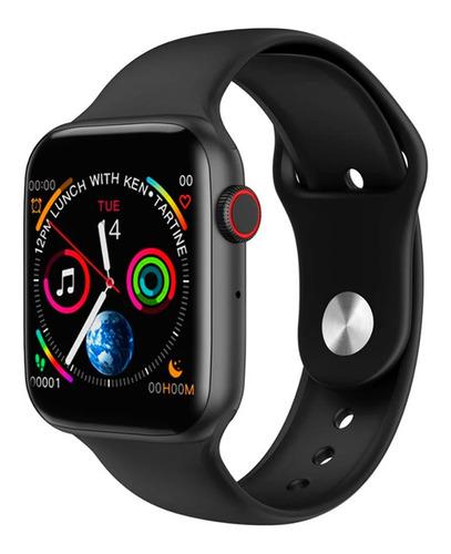 Relogio Smartwatch Inteligente Iwo 8 Lite 44mm Bluetooth Samsumg Galaxy Apple iPhone Xiaomi LG Motorola - Pronta Entrega