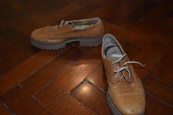 Zapatos Marrones Tipo Dr Martens