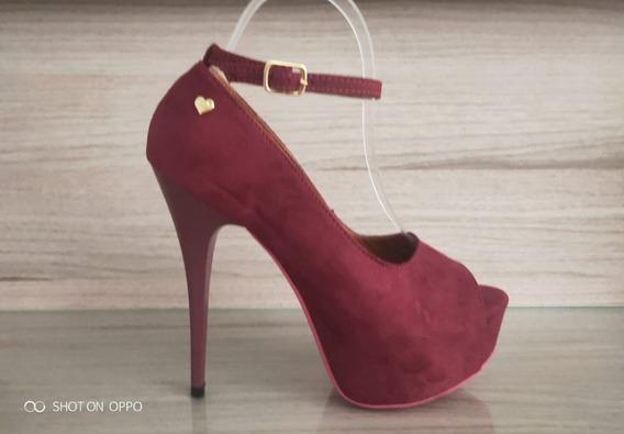 Lindo Sapato Feminino Salto Alto - Estilo Importado M30