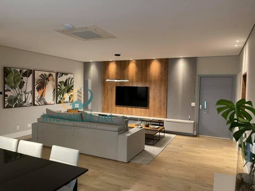 Imagem 1 de 30 de Excelente Apartamento - Venda - 100% Decorado E Mobiliado, Maison - 240m² Sendo 03 Suítes (01 Suíte Master Com Closet), - 822