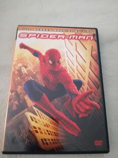 Dvd Original Marvel El Hombre Araña 2 Discos Spiderman 2002