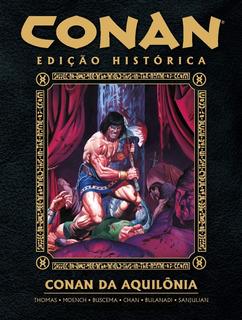 Conan Da Aquilônia - Hq Capa Dura Nova Lacrada Raridade!