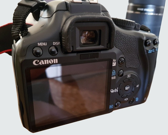 Câmera Semi Profissional Canon Eos Rebel Xsi