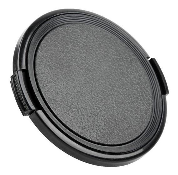 Tampa De Lente Clássica - 49mm Para Sony Fuji Canon Nikon