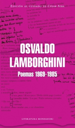 Poemas 1969-1985 - Lamborghini, Osvaldo