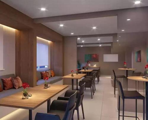 Apartamento Com 2 Dormitórios À Venda, 34 M² Por R$ 211.000,00 - Mooca - São Paulo/sp - Ap7379