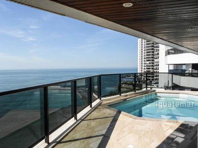 Apartamento À Venda Na Praia Das Astúrias Com Vista Para O Mar - A118mlg