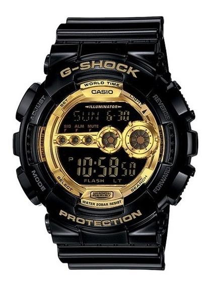 Relógio Casio G-shock Gd-100gb-1dr Resistente A Choques