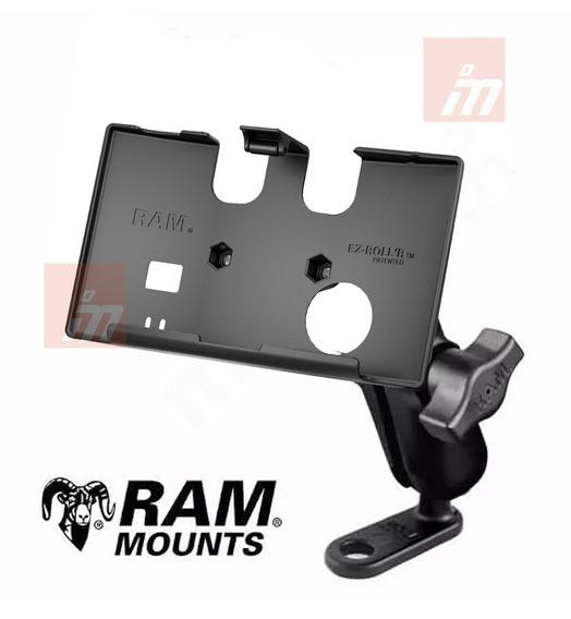 Soporte Ram Mounts De Gps Nuvi 65 66 67 68 Espejo 11mm Moto