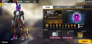 Remera Freefire, Cuenta Con 12 Pases Elite.