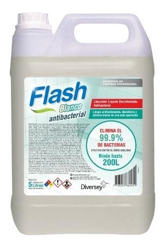 Desinfectante Flash Amonio Cuaternario Bactericida Virucida