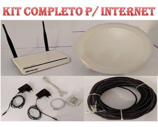 Mikrotik Sxt Lite5 + Roteador Multilaser Combo Internet