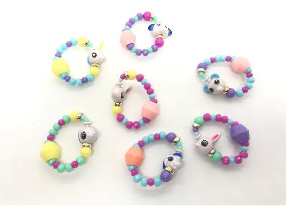 10 Un Pet Beads Bracelet Atacado Lembrancinha Festa Sortido