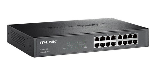 Switch De Mesa Gigabit 16 Portas 10/100/1000 Tp-link Sg1016