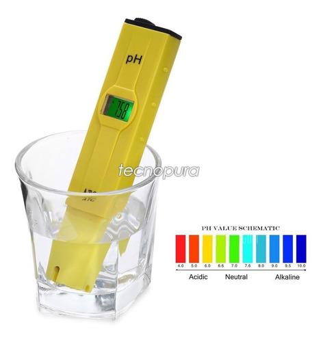 Medidor De Ph Digital Tipo Lápiz / Ph Metro + Destornillador