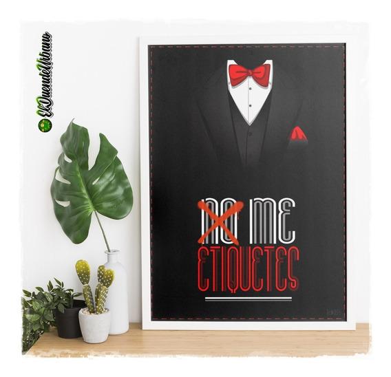 Poster Imprimible » Smoking » 100x70cm. » Envio Gratis