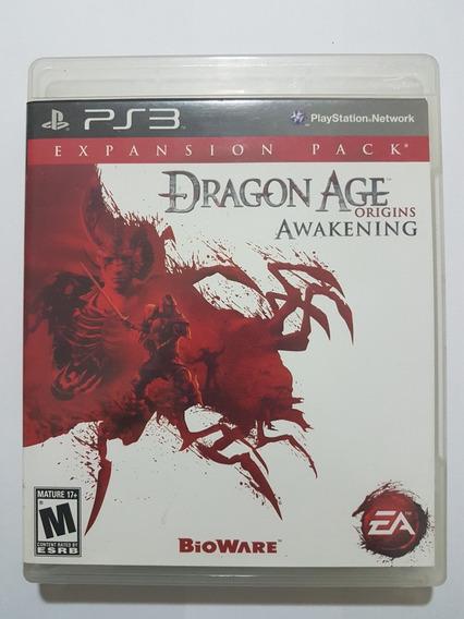 Dragon Age Origins Original Mídia Física Para Playstation 3