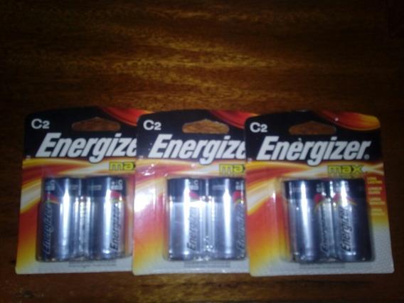 Bateria Energizer C Alcalina