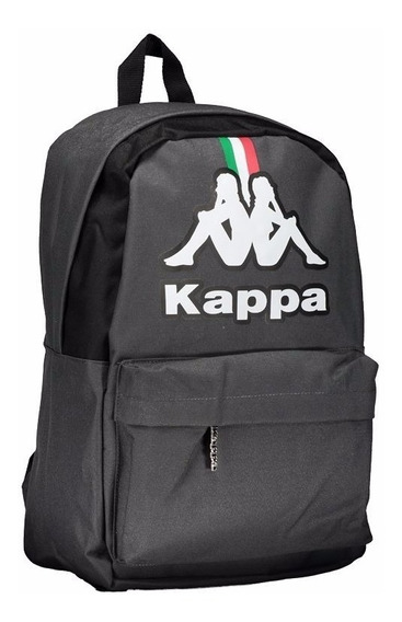 Mochila Kappa Italy Italia Cinza Oficial Promoção Frete Grátis