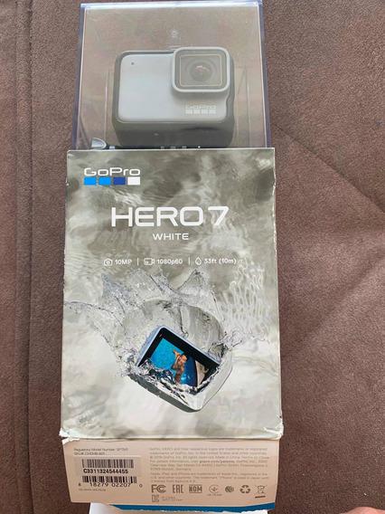 Gopro 7 Hero White Caixa Aberta Completa Envio Imediato