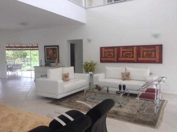 Casa Mansão Condominio Encontro Das Aguas 4 Suites - Locação - 126c4p - 32015456