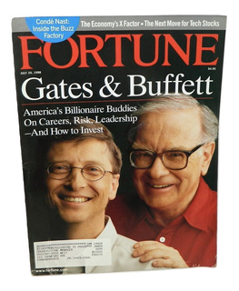 Revista Fortune Especial Bill Gates & W. Buffett Julio 1998
