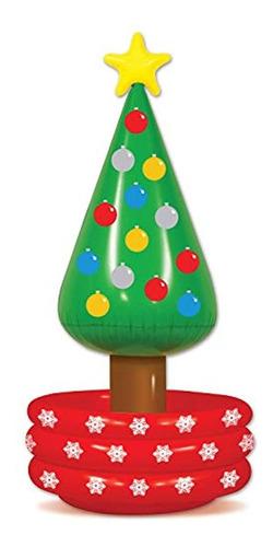 Inflable Multicolor De Arbol De Navidad. Marca Pyle