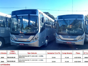 Ônibus Liquidando, Ano De 2008 A 2010,a Vista Desconto De 5%