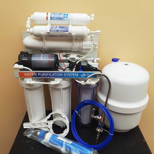 Purificador De Agua Osmosis Inversa 6 Etp./incluye Alcalino