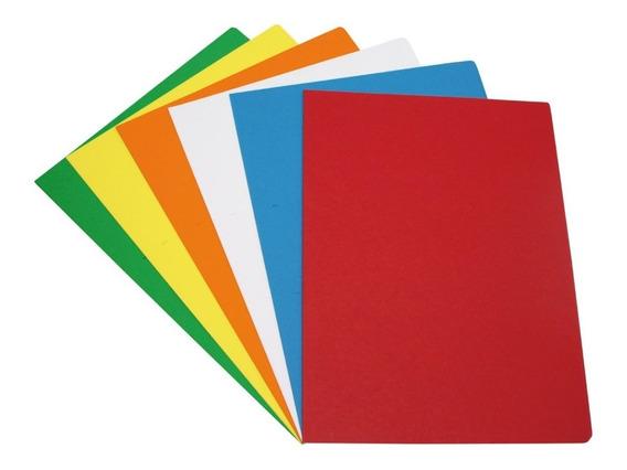 Cartulina Escolar 45x60 X 20 Unidades Colores A Elección