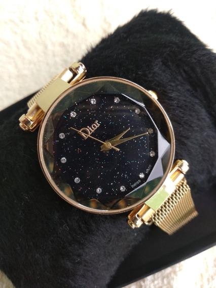 Relógio Dior Pulseira Magnética.